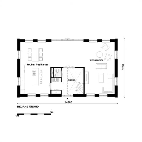 Casco woning klassiek notariswoning afmetingen woning for Wat kost eigen huis bouwen