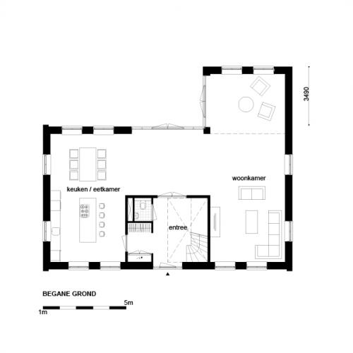 Casco woning klassiek notariswoning begane grond for Wat kost zelf huis bouwen