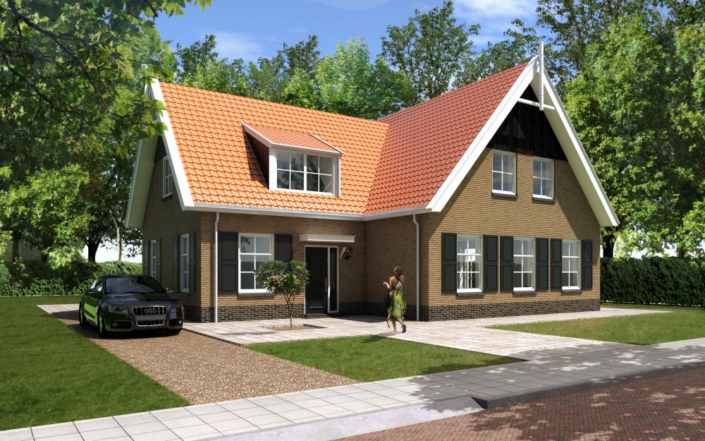 Moderne laagbouw woningen for Vrijstaand huis laten bouwen